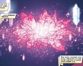 El Cristal M'Kraan, el nexo de todas la realidades del Universo Marvel