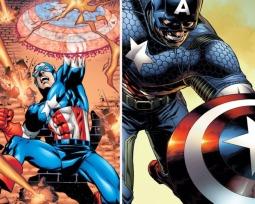 El escudo del Capitán América, uno de los objetos más míticos del mundo del cómic