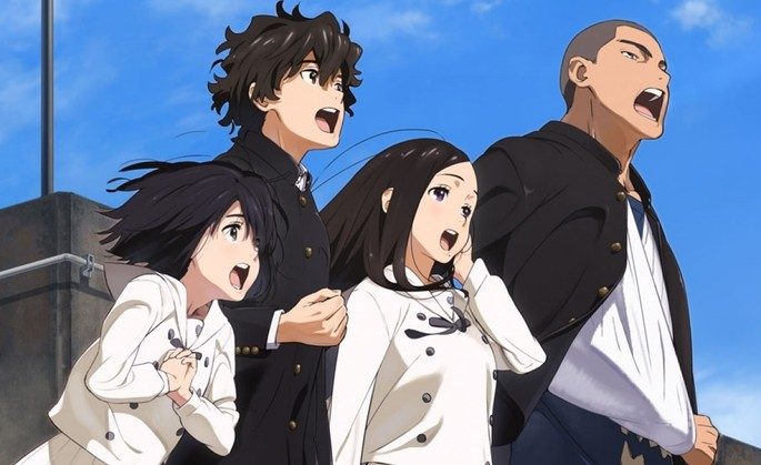 El himno del corazón Peliculas Anime