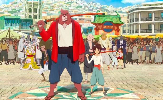 El niño y la bestia Peliculas Anime