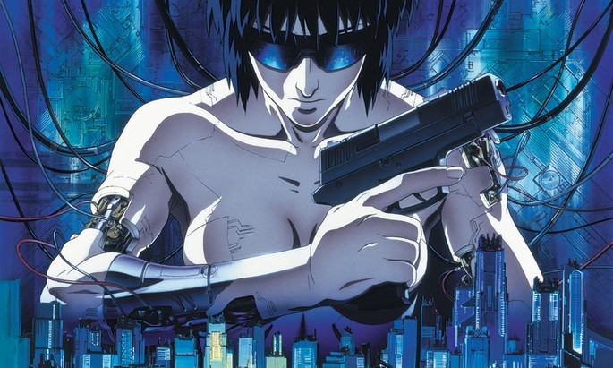 Ghost in the Shell Peliculas Anime
