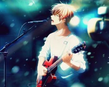 Given, el nuevo anime BL, estrena trailer e ilustración oficial