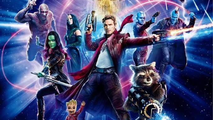 Guardianes de la galaxia película Marvel