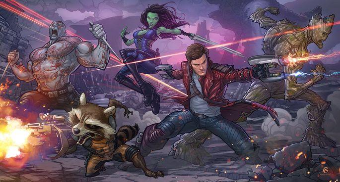 Guardianes de la Galaxia Peter Quill