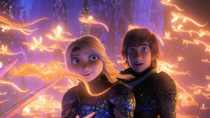 How to Train Your Dragon: The Hidden World Películas Infantiles