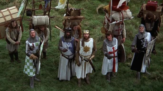Monty Python Comedias