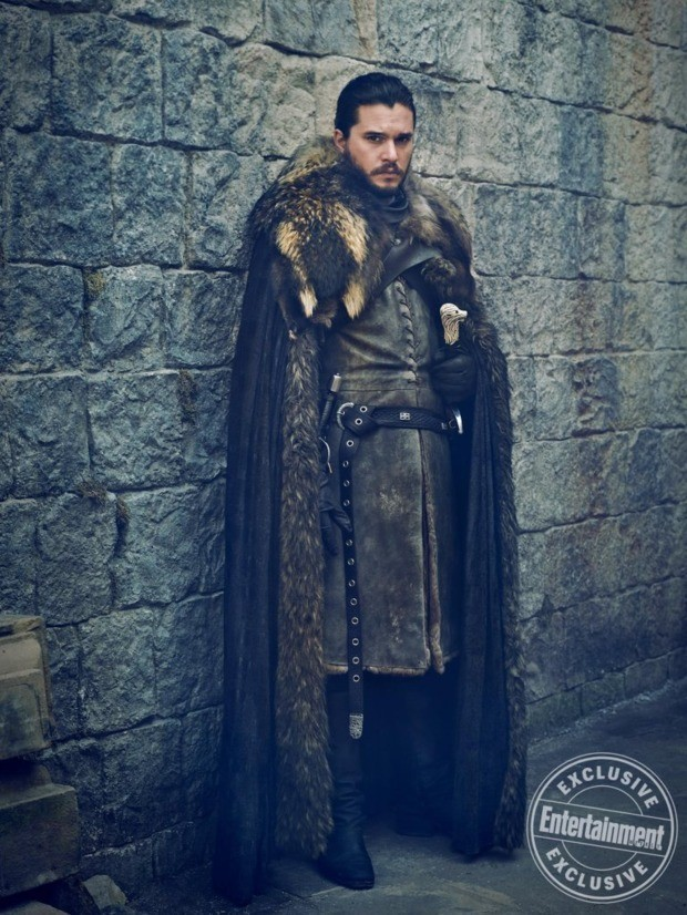 Kit Harrington in costume