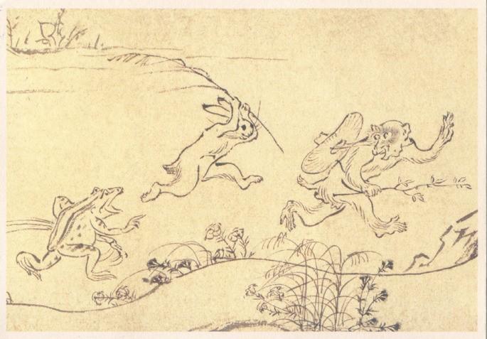 Ilustraciones de Chōju-giga