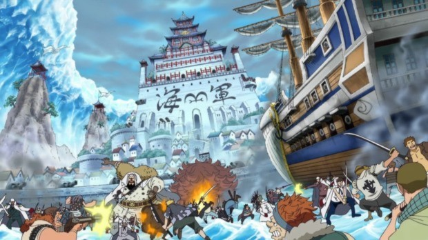 6 One Piece Sagas y Arcos