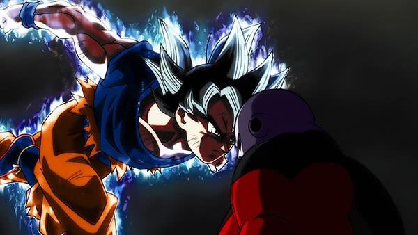 Goku Ultra Instinto VS Jiren