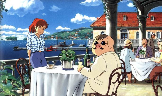 Porco Rosso películas Ghibli Netflix