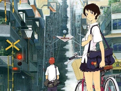 La chica que saltaba a través del tiempo Peliculas Anime