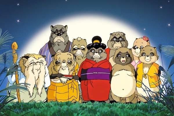 La guerra de los mapaches Ghibli Películas Netflix