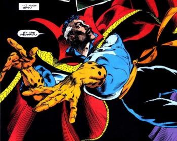 La increíbles habilidades de la Capa de Levitación del Doctor Strange