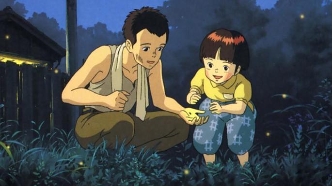 La tumba de las luciérnagas Peliculas Anime