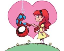 La (complicada) vida amorosa de los superhéroes de Marvel