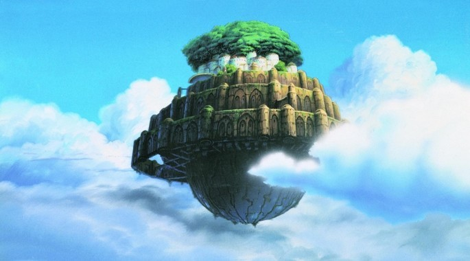 Laputa Castle in the Sky Películas de Ghibli