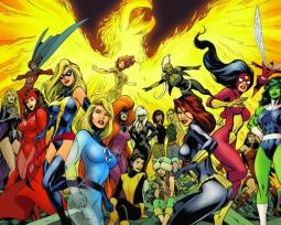 Las 15 superheroínas Marvel más poderosas
