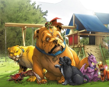 Las 23 mascotas más importantes del mundo del cómic