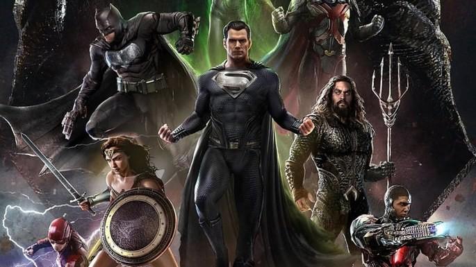 Liga de la Justicia (2021 - versión Zack Snyder) - Batman orden cronologico