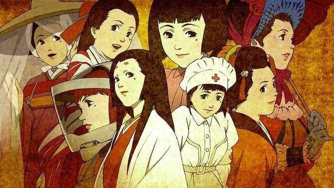 Millennium Actress Peliculas Anime