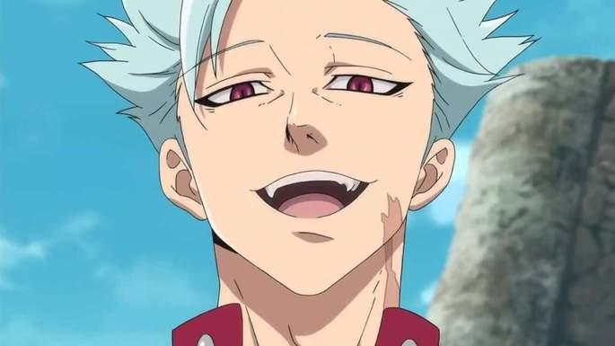 Nanatsu No Taizai Personajes - Ban
