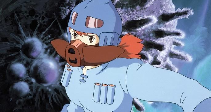 Nausicaä del valle del viento Peliculas Anime