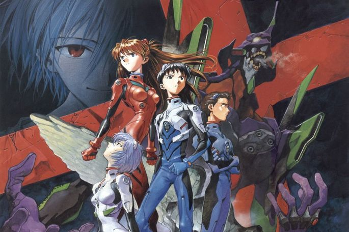 Neon Genesis Evangelion The End of Evangelion Peliculas Anime