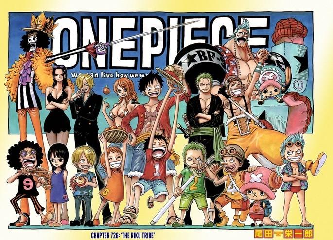 One Piece de Eichiro Oda, el manga más vendido en la actualidad
