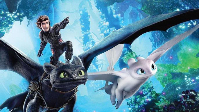 Películas de acción - How to Traing Your Dragon - The Hidden World