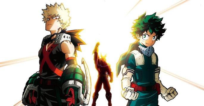 Películas de acción - My Hero Academia Heroes Rising