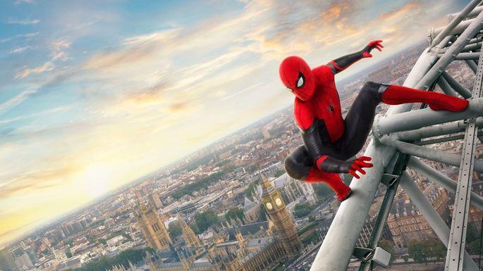 Películas de acción - Spider-Man Far From Home