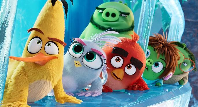 Películas de acción - The Angry Birds Movie 2