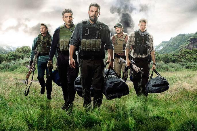Películas de acción - Triple Frontier