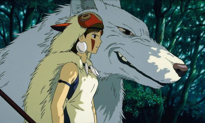 Princesa Mononoke Ghibli Películas Netflix