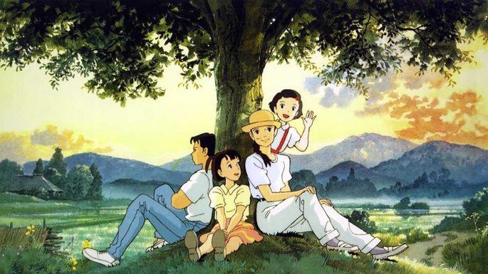 Recuerdos del ayer películas Ghibli netflix