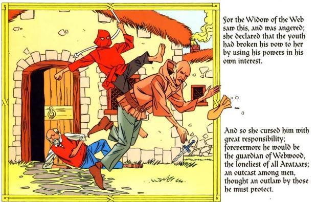 spidey-medieval