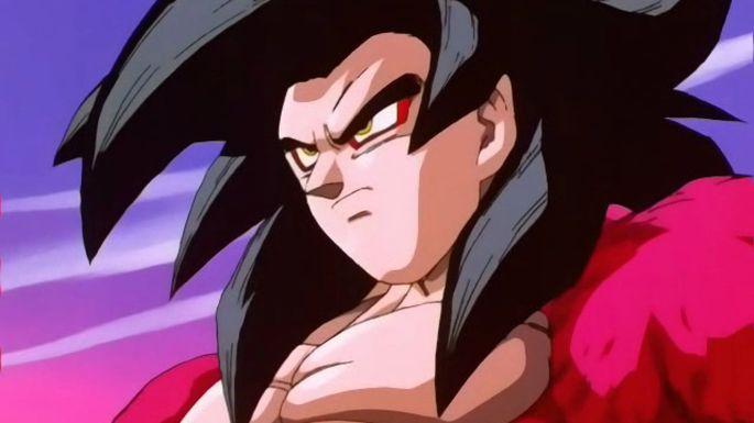 Super Saiyajin 4 Dragon Ball