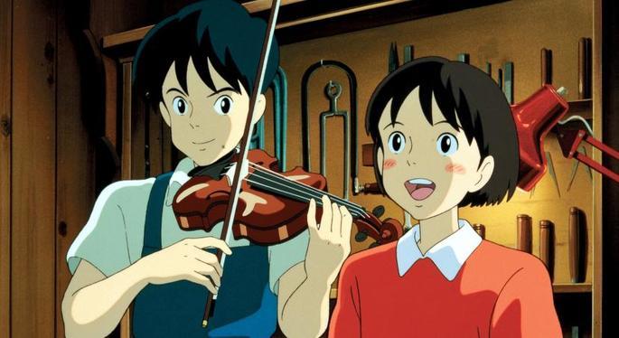 Susurros del corazón Películas Ghibli Netflix