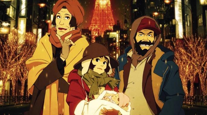Tokyo Godfathers Peliculas Anime