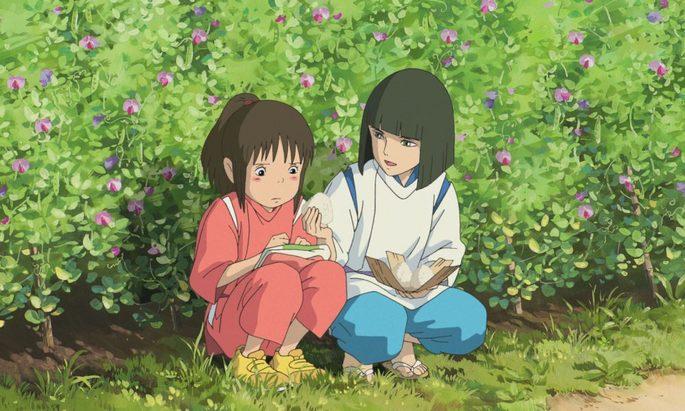 Viaje Chihiro Películas Ghibli Netflix
