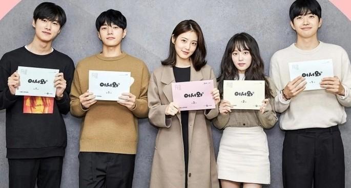Welcome dramas coreanos marzo