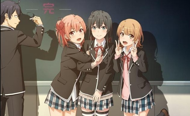 Yahari Ore no Seishun Love Comedy wa Machigatteiru Kan Estrenos Anime Abril